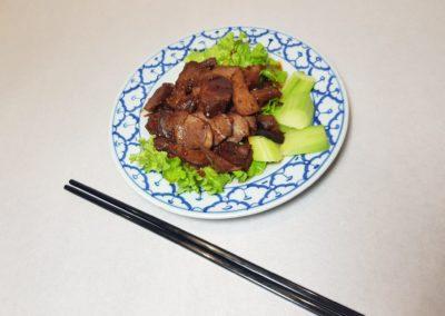 Salade de canard façon malaisienne