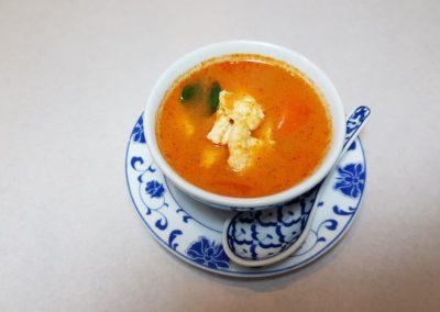 """Soupe thaïe """"tom kah kai"""" au poulet"""