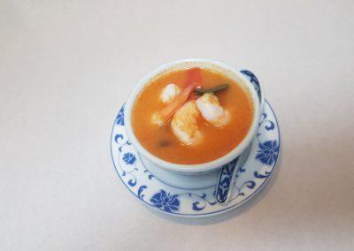 """Soupe thaïe """"Tom yam Kung"""" aux crevettes"""